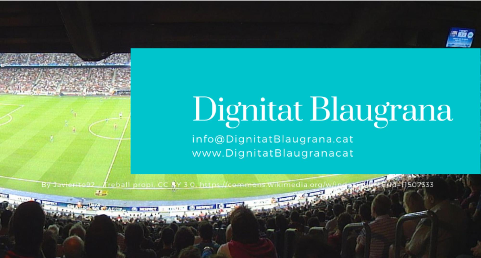 Dignitat Blaugrana